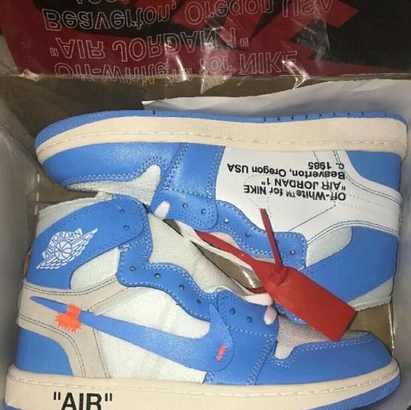 1df68a29a25 Jordan Shoes | Air 1 X Retro High Unc Off White Basketball | Poshmark